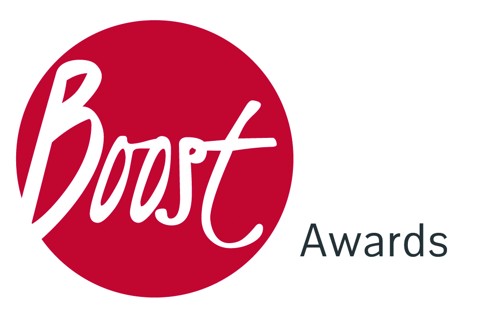 contact boost awards logo